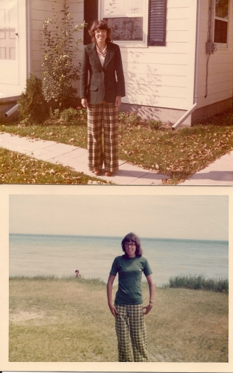 1970s Plaid Pants0001