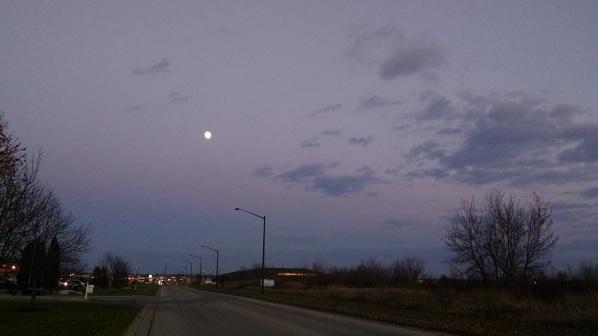 Sunset Moon 009
