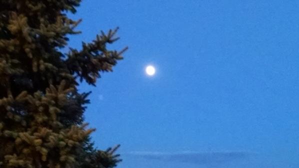 Sunset Moon 011