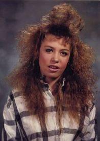 bad 80s hair