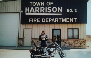 Town of Harrison is southeast of Appleton