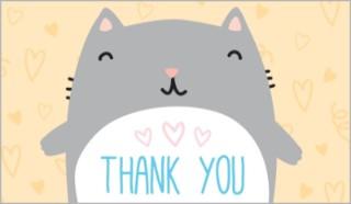 Thankyou cat