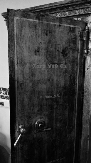 Cary Safe Company vault door.