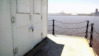 Door with a view.