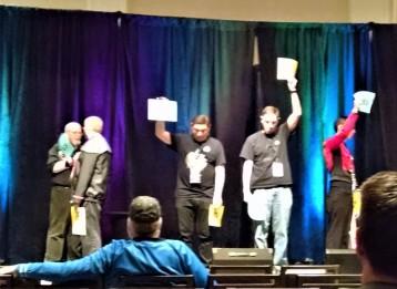 The Star Trek trivia contest.
