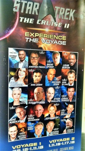 For a mere $1,100 to $1,900, you can go on a Star Trek cruise.