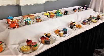 From cake decorating. Guess which one I like best?