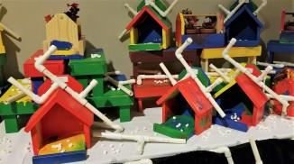 Woodworking, birdhouses