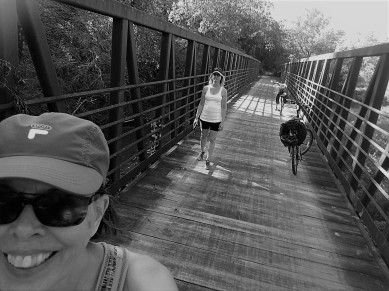Another bridge selfie