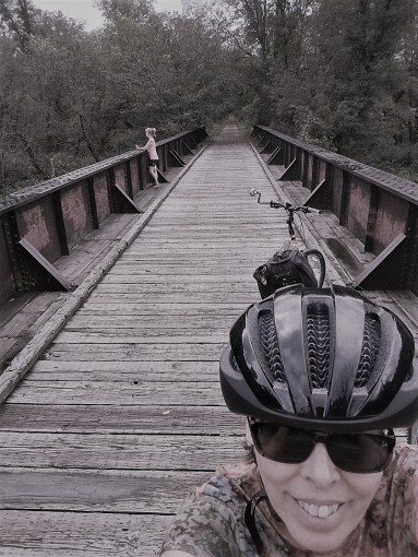 Bridge selfie